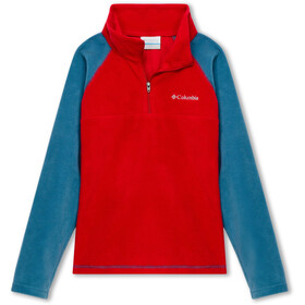 Columbia Glacial Pullover Drenge, mountain red/blue heron